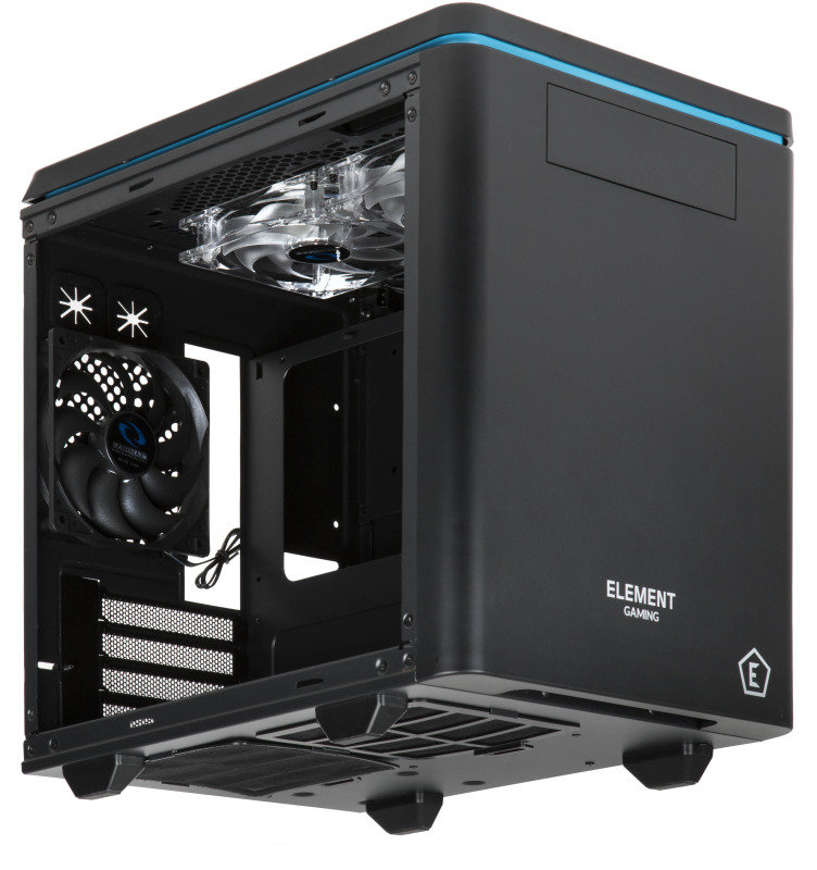 Element Gaming Hyperion Micro ATX Computer Case - Ebuyer