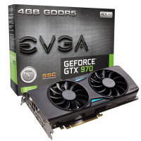 EVGA GTX 970 SSC GAMING 4GB GDDR5 DVI HDMI 3x DisplayPort PCI-E Graphics Card