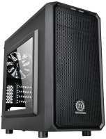 EXDISPLAY Thermaltake Versa H15 M-atx Gaming Case With Side Window Usb3 Black Interior