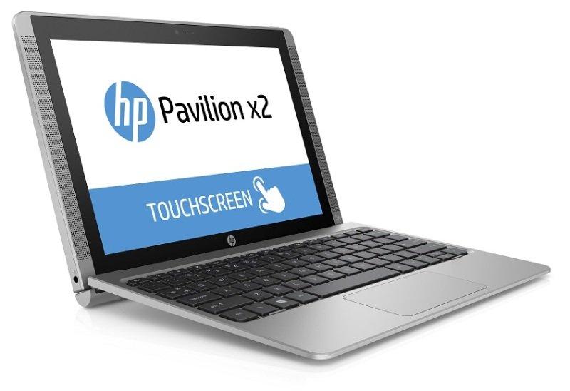 "Image of HP Pavilion X2 10-n000na Detachable Laptop, Intel Atom Z3736F 1.33GHz, 2GB RAM, 32GB eMMC, 10.1"" Touch Screen, Intel HD Graphics, Webcam, Bluetooth, Windows 8.1 32bit, Silver"