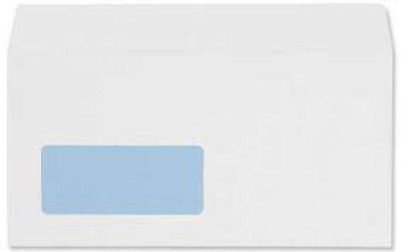 Image of Wallet Self Seal Window White Envelopes
