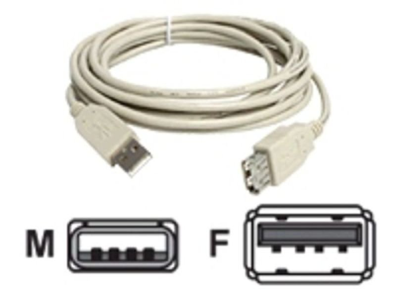 StarTech.com USB 2.0 Extension Cable 3.1m Beige