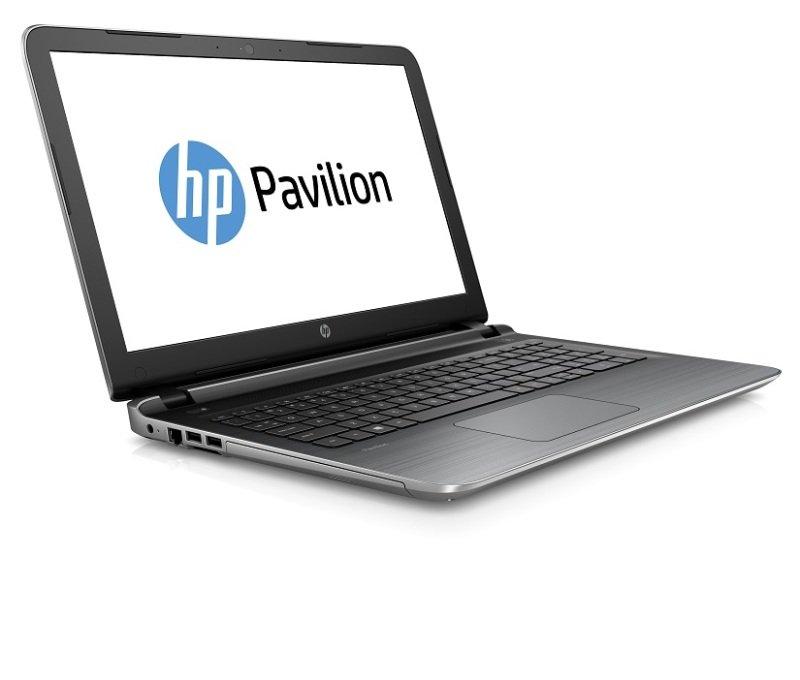"Image of HP Pavilion 15-ab071na Laptop, AMD Quad-Core A6-6310 APU 1.8GHz, 4GB RAM, 1TB HDD, 15.6"" Display, SuperMulti DVD, AMD Radeon R7 M360, Webcam, Bluetooth, Windows 8.1 64bit, Silver"