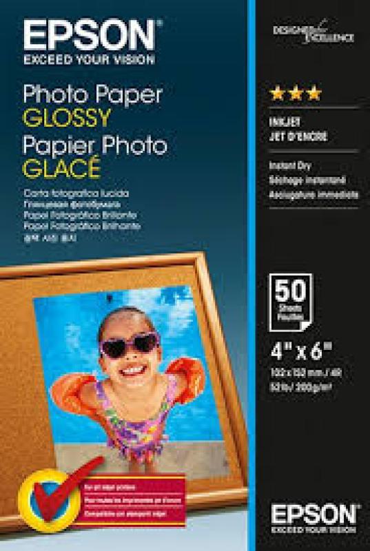 Epson Photo Paper Glossy 10x15cm - 50 sheet