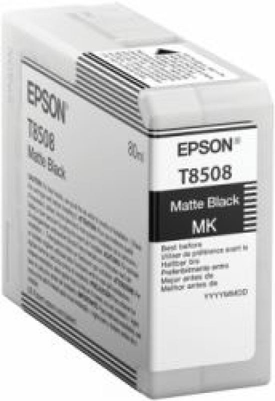 Epson T8508 High Yield Matte Black Ink Cartridge