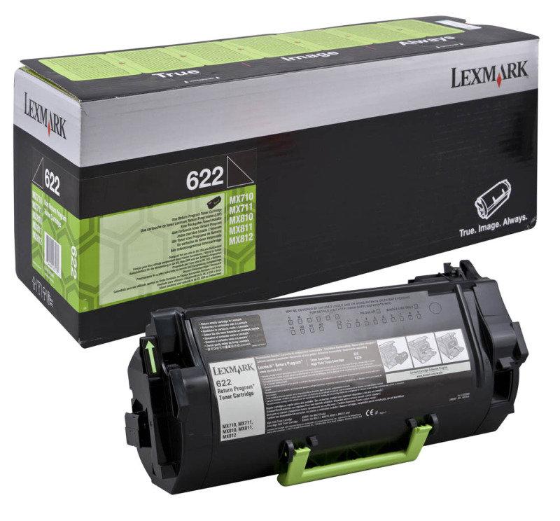 Lexmark 622 Return Progr Toner Cartridge