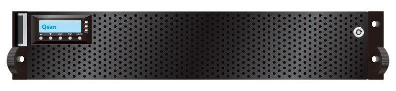 QSAN P600Q-D212 SFP+ 10GbE iSCSI-SAS 12 Bay 2U SAN System