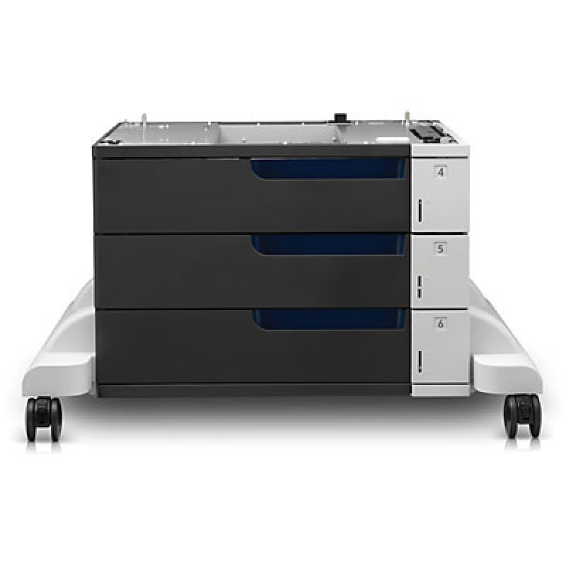 Image of HP LaserJet 3x500-sheet Paper Feeder and Stand