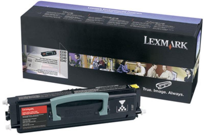 Lexmark E33x E34x Black Toner Cartridge