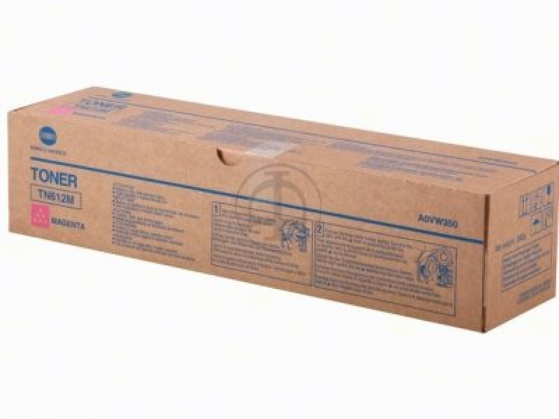 Konica Minolta TN612M Magenta Toner cartridge