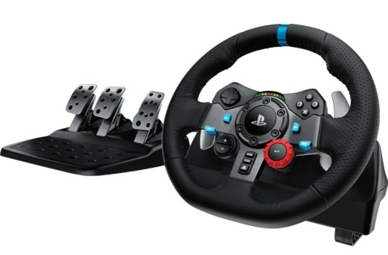 Logitech G29 Steering Wheel and Pedals - PC/PS3/PS4