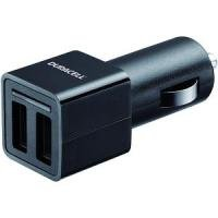 Duracell Dual USB 4.8A Car Charger - Black