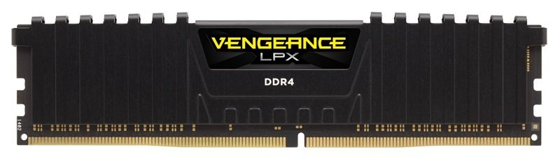 Corsair Vengeance LPX 8GB (2x4GB) DDR4 DRAM 2133MHz C13 Memory Kit - Black