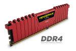 Corsair Vengeance LPX 8GB (2x4GB) DDR4 DRAM 3000MHz C15 Memory Kit - Red 1.35V