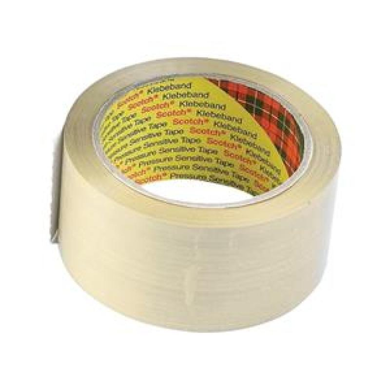 Scotch Clear Packaging Tape 50mmx66m (pk6)