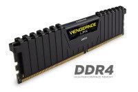 Corsair Vengeance LPX 8GB (1x8GB) DDR4 DRAM 2666MHz C16 Memory Kit - Black 1.2V
