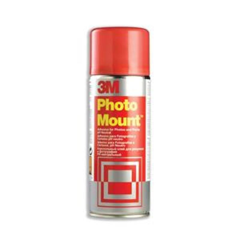 3m Photo Mount Adhesive Spray Cfc-free 400ml