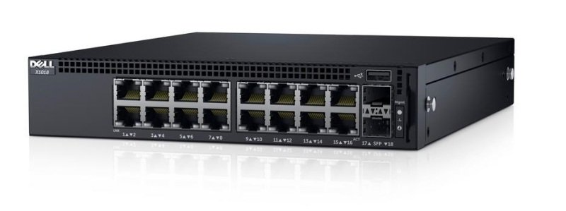 Dell Networking X1018 16 ports Managed Switch