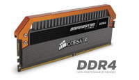 Corsair Dominator Platinum Series 16GB (4 x 4GB) DDR4 DRAM 3400MHz C16 Memory Kit Limited Edition Orange 1.35V