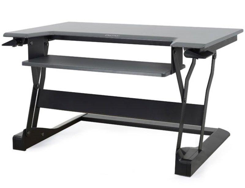 Ergotron WorkFit-T Sit/Stand Desktop Work Station