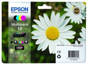 Epson 18 Claria Colour Multipack Ink Cartridge