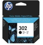 HP 302 Black Original Ink Cartridge - Standard Yield 190 Pages - F6U66AE