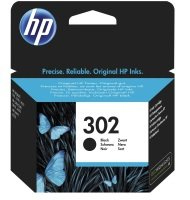 HP 302 Black Ink Cartridge - F6U66AE