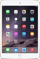 iPad Mini 3 Wi-Fi 128GB Tablet - Gold