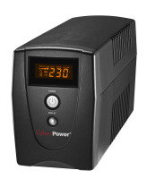 CyberPower VALUE600EILCD Value Series Uninteruptible Power Supply (360W/600VA)