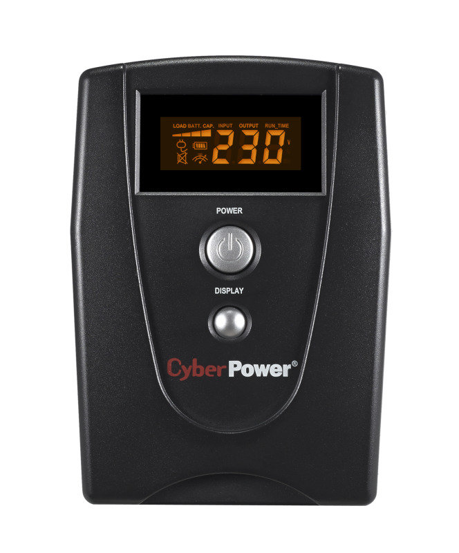 CyberPower VALUE800EILCD Value Series Uninteruptible Power Supply (480W/800VA)