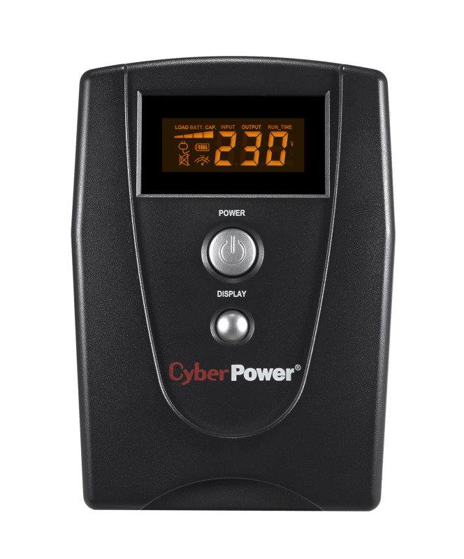 CyberPower VALUE1000EILCD Value Series Uninterruptible Power Supply (550W/1000VA)