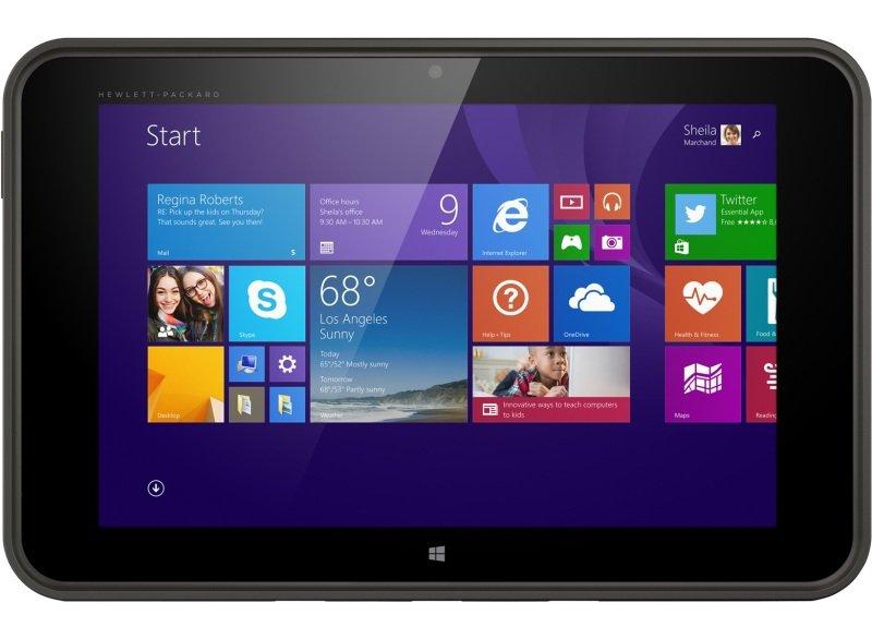 "Image of HP Pro Tablet 10 Z3735F 2GB 32GB W8.1P- IntelAtom Z3735F 1.33GHz- 2GB RAM + 32 GB eMMC - 10.1"" WXGA IPS Display/ (1280 x 800) - Bluetooth v4.1 + 2 Cameras - Windows 8.1 Pro"