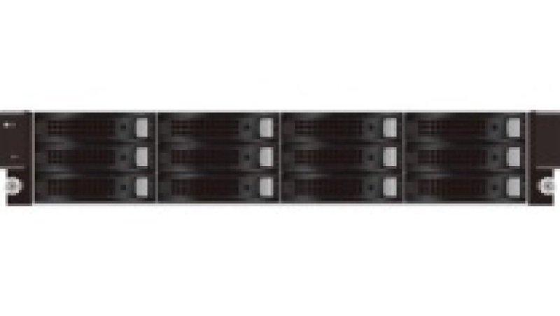 QSAN U221 60TB (12 x 5TB) TrioNAS 12 Bay 10GbE ZFS 2U Rack