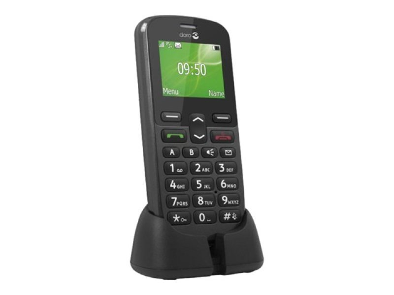 Image of Doro PhoneEasy 508 - Graphite - GSM - mobile phone