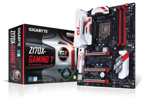 Gigabyte GA-Z170X-GAMING 7-EU Socket LGA1151 HDMI 5.1 Channel Audio ATX Motherboard