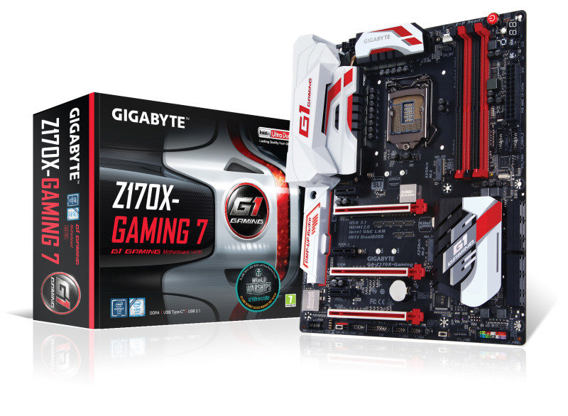Gigabyte GAZ170XGAMING 7EU Socket LGA1151 HDMI 5.1 Channel Audio ATX Motherboard