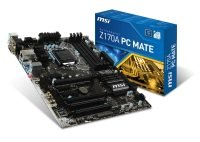 MSI Z170A PC Mate Socket LGA 1151 VGA DVI HDMI 7.1 HD Audio ATX Motherboard