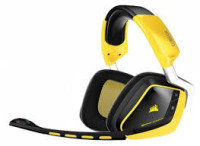 Corsair Gaming VOID Wireless SE RGB Dolby 7.1 Comfortable Gaming Headset- Yellowjacket
