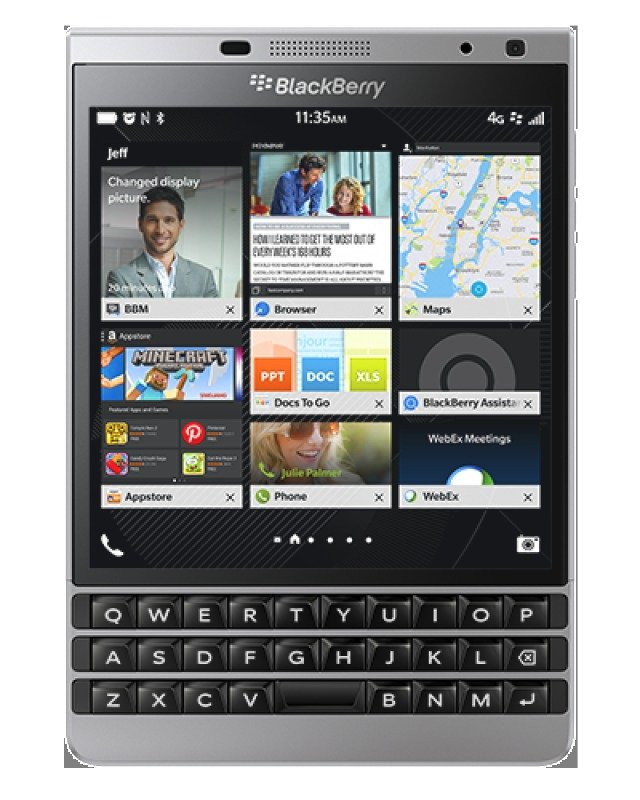 Image of BlackBerry Passport Silver Edition