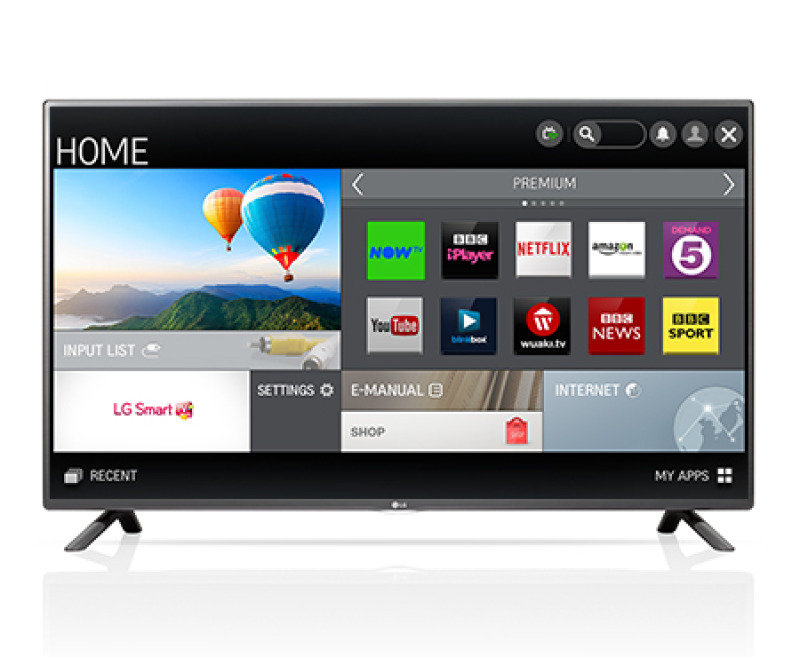 Image of Lg 55 Inch Led Netcast Smart Full Hd Tv Wifi 2.0ch 20w