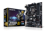 Gigabyte GA-Z170XP-SLI Socket LGA 1151 HDMI 7.1 Channel Audio ATX Motherboard