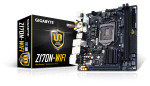 Gigabyte GA-Z170N-WIFI Socket 1151 DVI Dual HDMI 7.1 Channel audio Mini ITX Motherboard