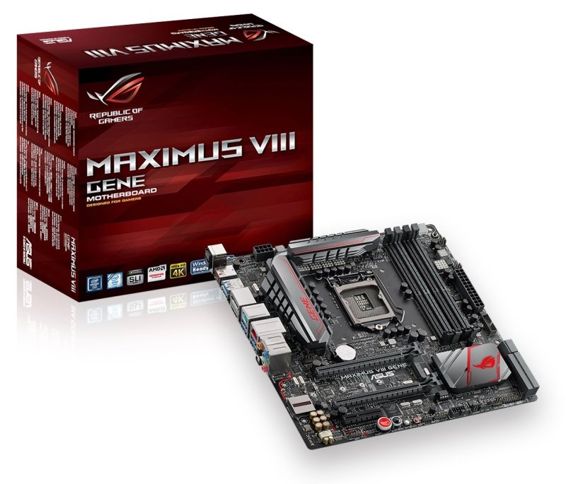 ASUS MAXIMUS VIII GENE Socket 1151 mATX Motherboard