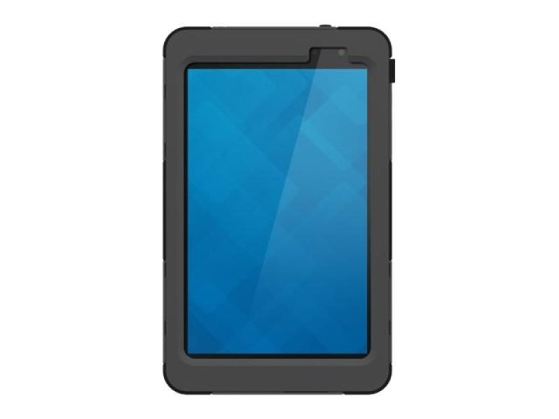 Image of Targus SafePORT Rugged Max Pro - Protective cover for tablet - silicone, polycarbonate - black - for Venue 8 Pro