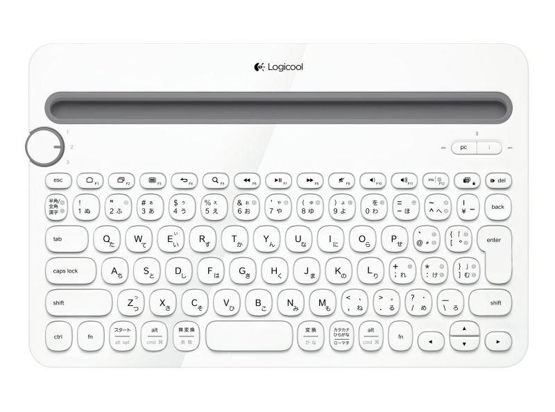 Image of Logitech Multi-Device K480 Wireless Keyboard English