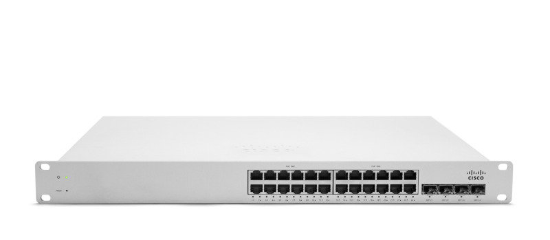 Meraki 24 port MS320-24-HW L3 Cloud Managed PoE Switch