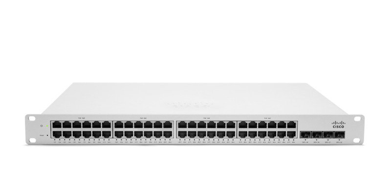 Meraki 48 port MS220-48FP Cloud Managed PoE Switch