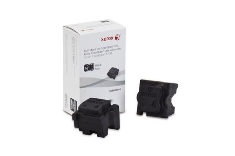 Xerox ColorQube 8700 Black Ink Stick (Pack of 2)