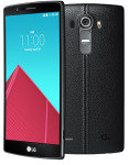 LG G4 32GB Phone - Black Leather