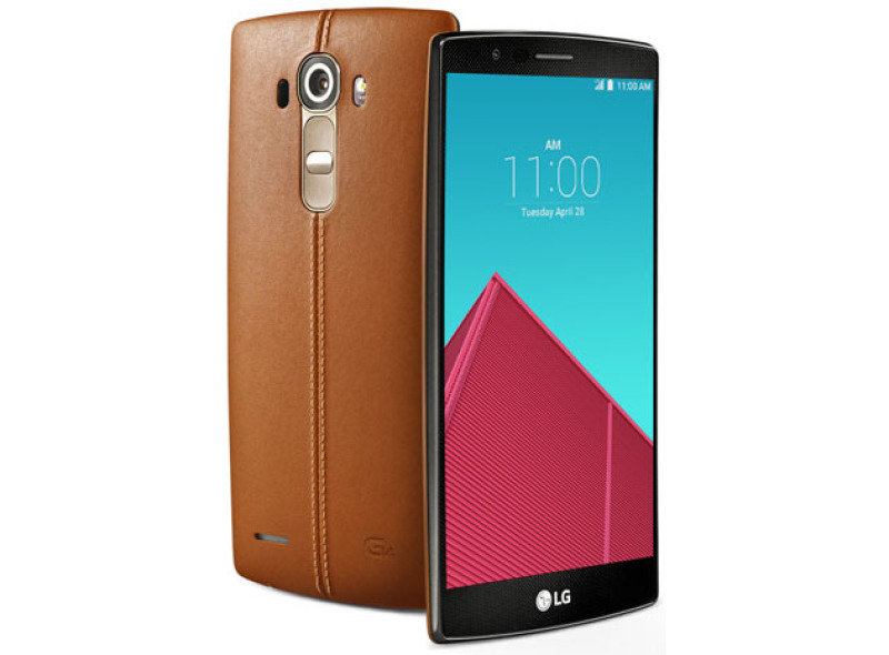 LG G4 32GB Phone - Brown Leather